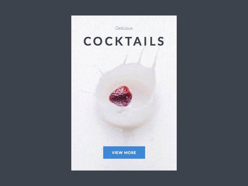 Cocktail Product View