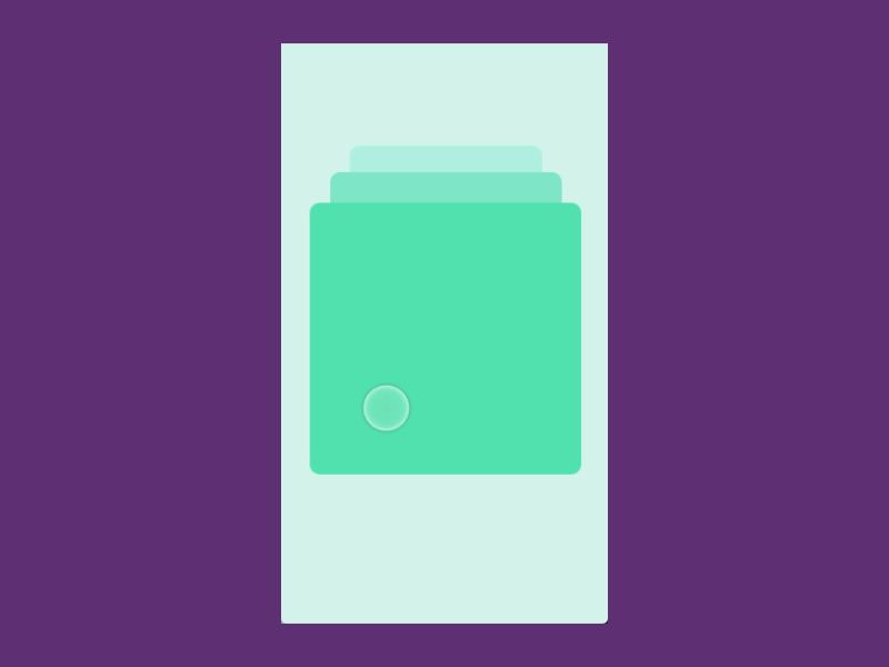 Swipe Card Animation