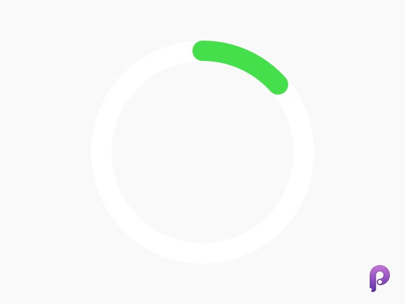 dribbble-progress-bar