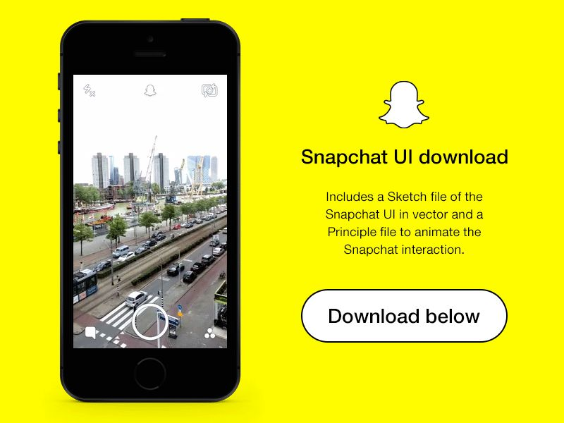 snapchat-dribbble-post